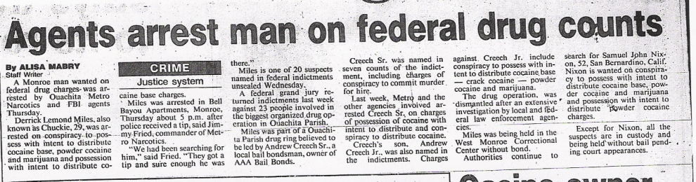 federal drug counts